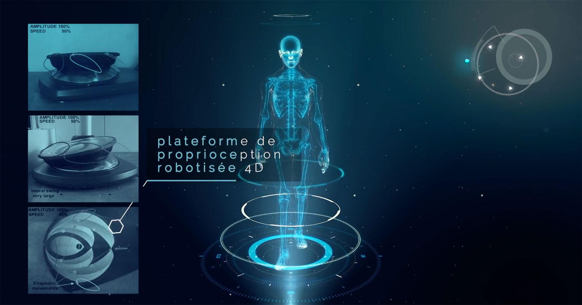 plateforme motorisee kine - proprioception